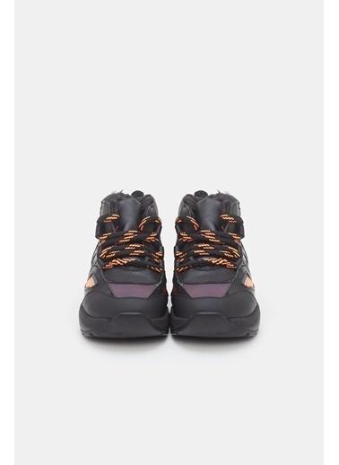 BG Baby Erkek Bebek Siyah Ayakkabı Siyah